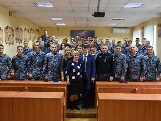 До Військово-морського ліцею завітав Голова Верховної Ради України, Морські бізнес-новини України